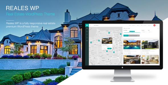 Reales WP - Real Estate WordPress Theme by mariusnastase | ThemeForest