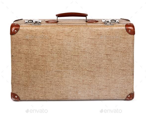 old vintage suitcase stock photo by anterovium photodune