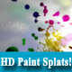 Hd Paint Splat