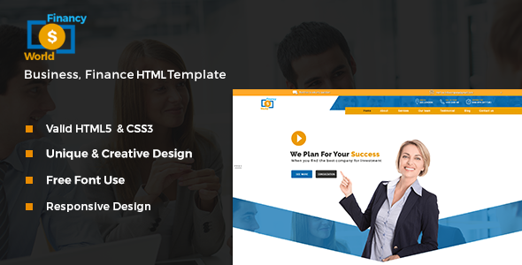 Financy world finance html template by bexpeedstudio themeforest financy world finance html template corporate site templates accmission Choice Image