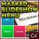 Rectangular Masked Slideshow XML Menu