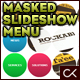 Circular Masked Slideshow XML Menu