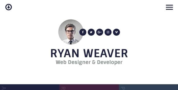 Insurgent - Personal Vcard Resume HTML Template by egemenerd | ThemeForest
