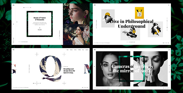 Ivy - Minima, Modern & Creative Portfolio PSD Template by UnionAgency