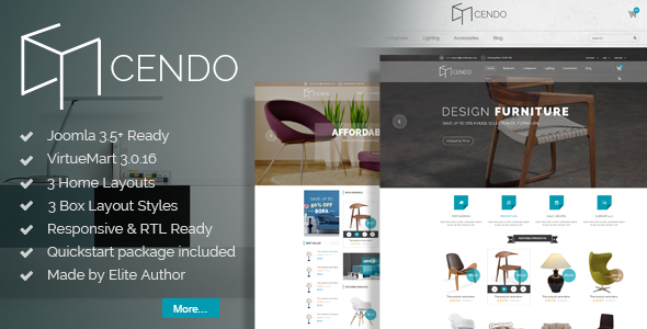 Vina Cendo - Multipurpose Joomla Virtuemart Template by VinaWebSolutions