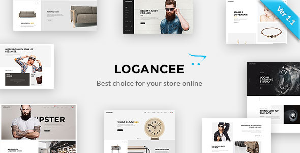 logancee premium opencart template by nine themes themeforest