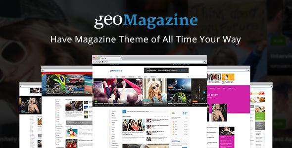 Geo Magazine | Modern Responsive Newspaper | News Portal WordPress ...