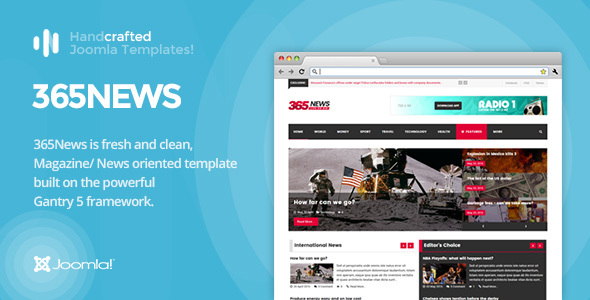 IT 365News News Magazine Joomla Template Gantry 5 by InspireTheme