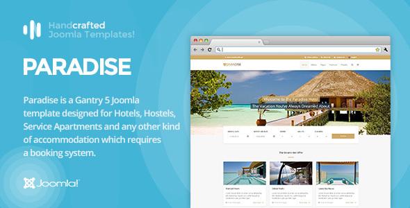 IT Paradise - Gantry 5, Hotel & Booking Joomla Template by InspireTheme