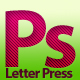 Letter Press Photoshop Styles