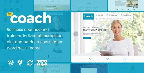 health coach wordpress template  WP Coach - Life, Health and Business Coach WordPress Theme by deTheme