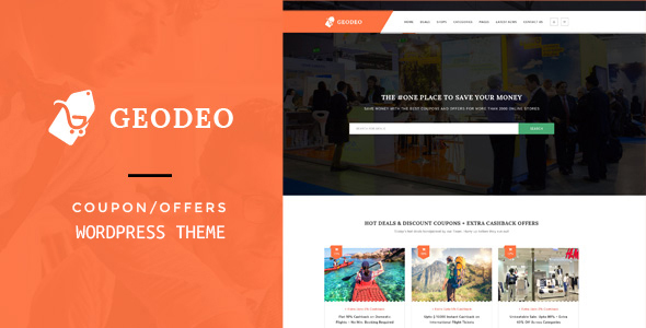 Geodeo - Coupons & Deals WordPress Theme by PremiumLayers | ThemeForest
