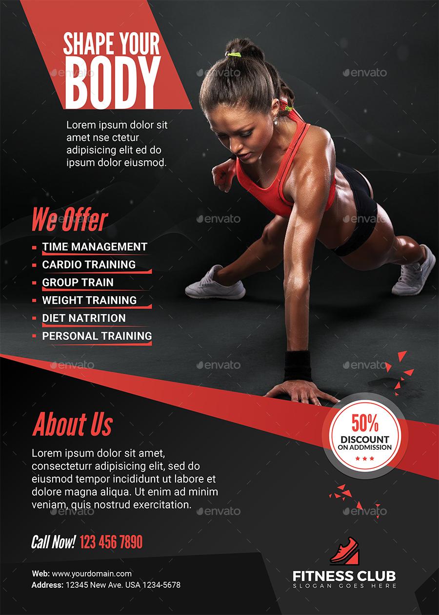 fitness flyer - solarfm.tk