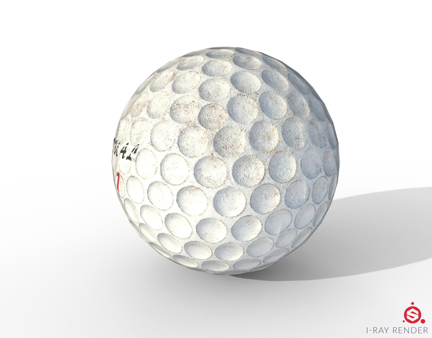Golf ball anatomy