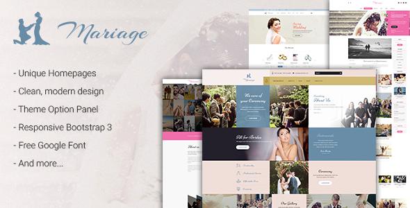 Wedding & Marriage - Wedding WordPress Theme by jwsthemes | ThemeForest