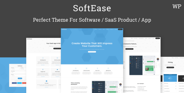SoftEase - Multipurpose Software / SaaS Product WordPress Theme by ...