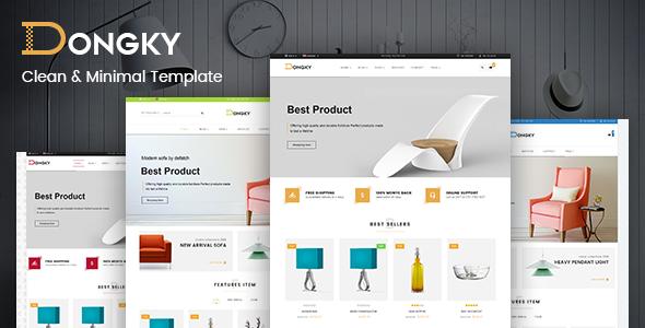 Vina Dongky - Clean & Minimal VirtueMart Joomla Template by ...