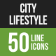 City Lifestyle Line Green &-Graphicriver中文最全的素材分享平台