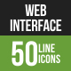 Web Interface Line Green &a-Graphicriver中文最全的素材分享平台