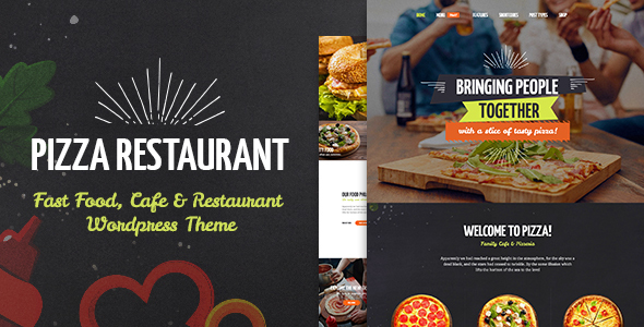 Pizza Restaurant - Fast Food, Cafe & Restaurant WordPress Theme by ...