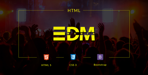 html edm template - edmania edm music template by suavedigital themeforest