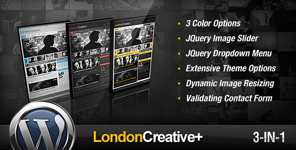 Themeforest: London Creative +