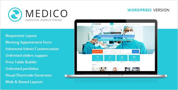 Medico - Medical & Health WordPress Theme by PremiumLayers | ThemeForest