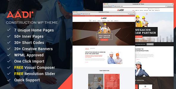 construction companies websites