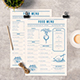 Modern Food Menu-Graphicriver中文最全的素材分享平台