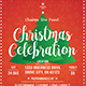 Christmas Celebration Flyer-Graphicriver中文最全的素材分享平台