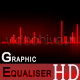 Graphic Equaliser - Motion Background/Element HD