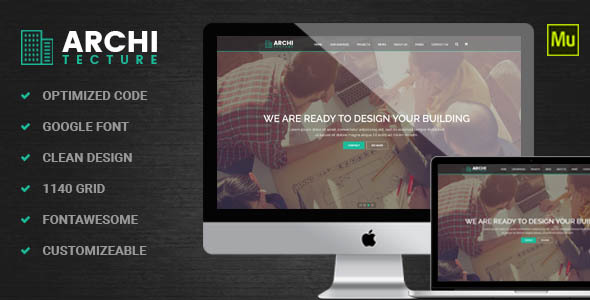 Architecture interior muse template by dev themes themeforest architecture interior muse template corporate muse templates maxwellsz