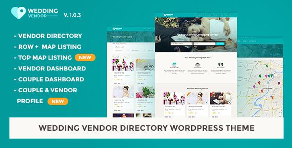 Vendor directory html template wedding vendor by jitu themeforest pronofoot35fo Choice Image