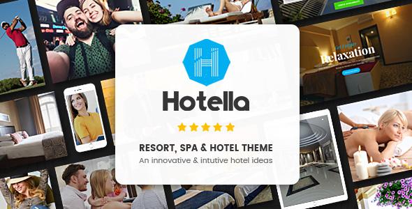 Hotella - Resort & Hotel Booking WordPress Theme