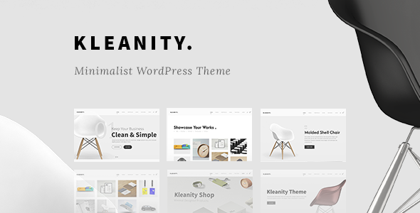Kleanity - Minimalist WordPress Theme / Creative Portfolio by GoodLayers