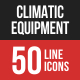 Climatic Equipment Line Fil-Graphicriver中文最全的素材分享平台