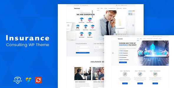 insurance template wordpress  Insurance - Theme for Insurance Agency by designthemes | ThemeForest
