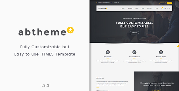 abtheme - Bootstrap Responsive HTML5 Template