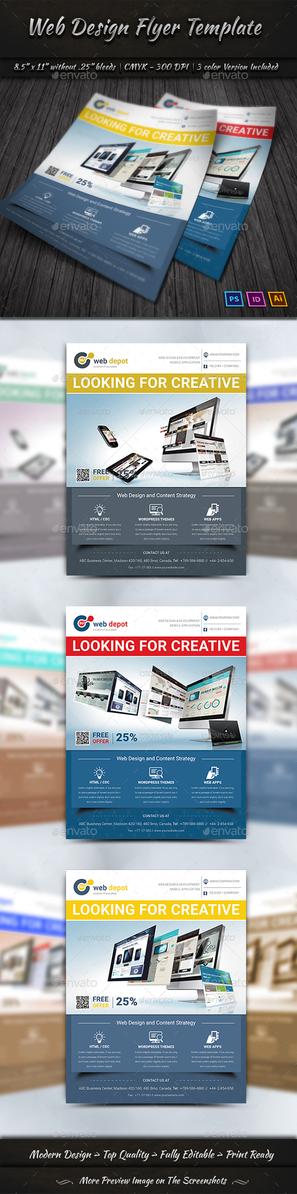 Free poster template online