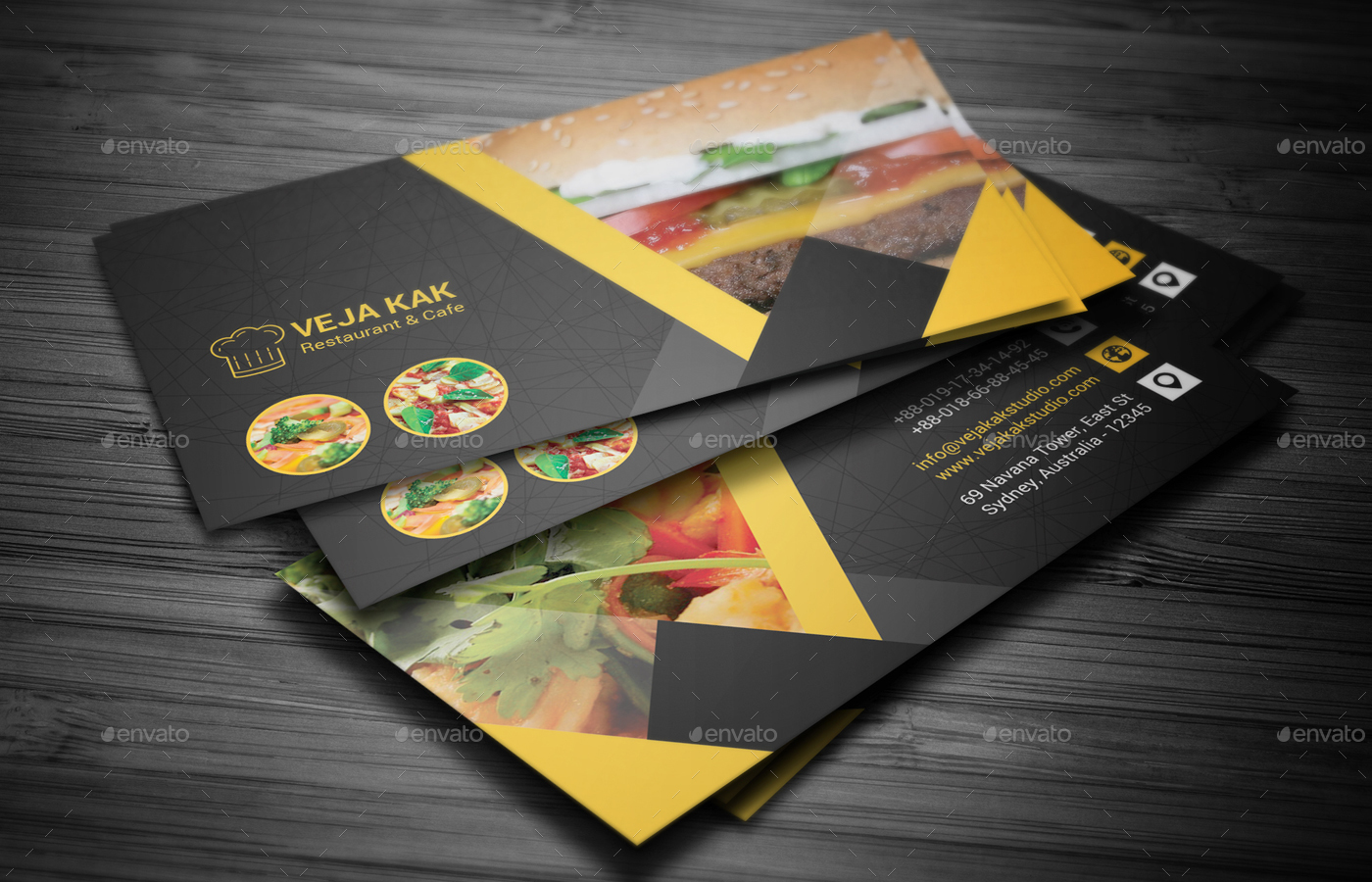 Restaurant business cards templates free mandegarfo restaurant business cards templates free wajeb Choice Image