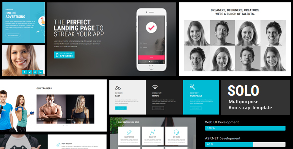 Solo 103 pages html bootstrap template by electricblaze solo 103 pages html bootstrap template by electricblaze themeforest pronofoot35fo Gallery