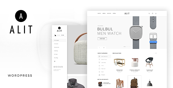 Alit - Minimalist Responsive Woocommerce WordPress Theme by ApusTheme