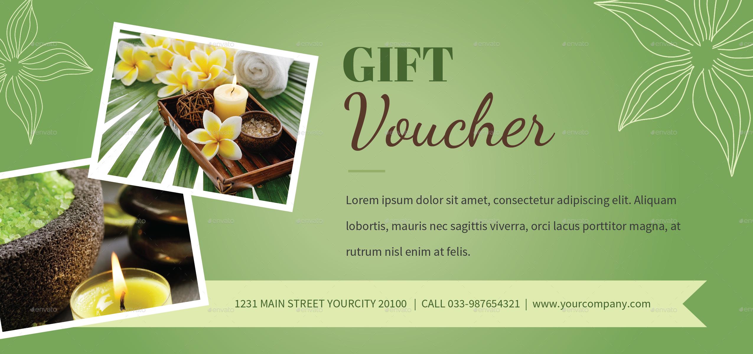 Spa Gift Voucher Template 5006712 Hitori49fo