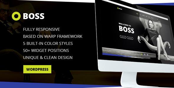 Boss — Modern Agency and Business WordPress Theme by torbara ...