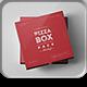 25 Pizza Box Mock-up-Graphicriver中文最全的素材分享平台