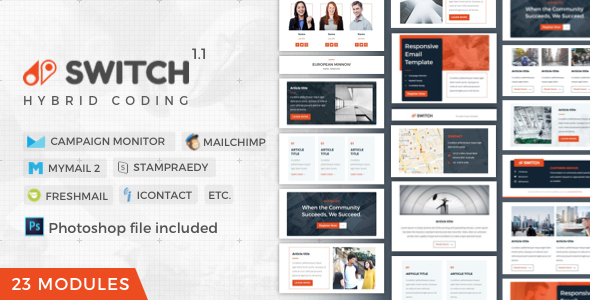 Switch | Business Newsletter By Nutzumi | Themeforest