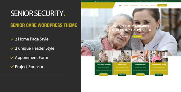 Senior Security - Senior Care WordPress Theme by TonaTheme | ThemeForest