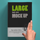 Softcover Large Book Mock U-Graphicriver中文最全的素材分享平台