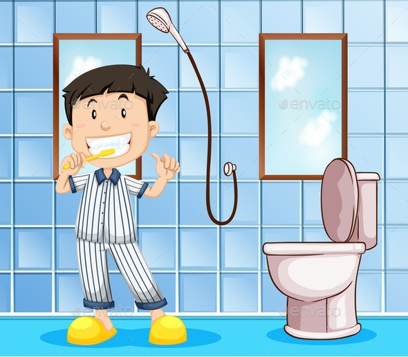 Bathroom clipart