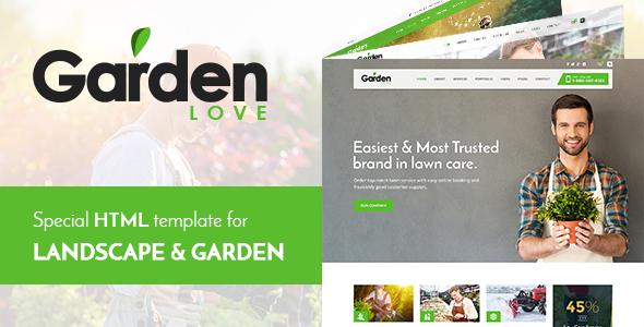 Garden - Landscaping & Gardening HTML Template by haintheme ... on garden park logos, garden club logos, garden logos design, garden nursery logos,